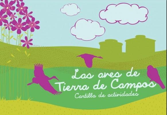 Las aves de Tierra de Campos, cartilla de actividades publicada por Araduey-Campos en el marco del Proyecto TRINO: Turismo Rural de INterior y Ornitología.
